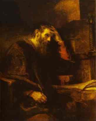 The_Apostle_Paul_-_Rembrandt (1)